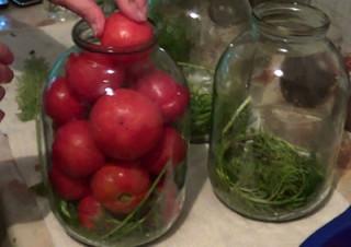 Рецепт сладких помидор