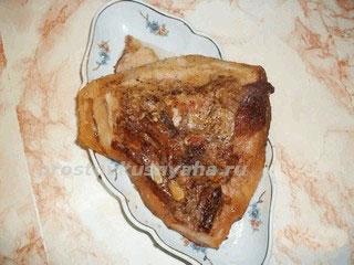 Рецепт свиной щековины